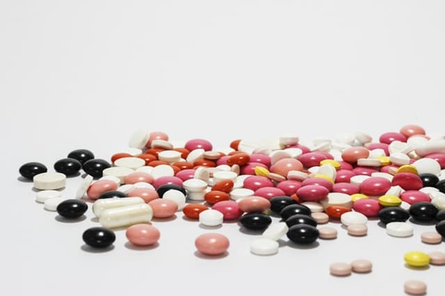 pile of drugs